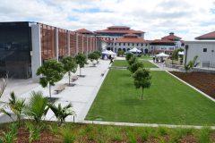 Honed Veneto Paving at Massey University