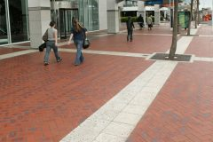 Honed Veneto Paving at Quay Street Auckland